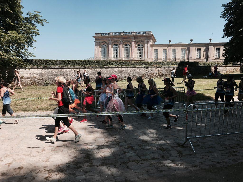 Running tour Château de Versailles