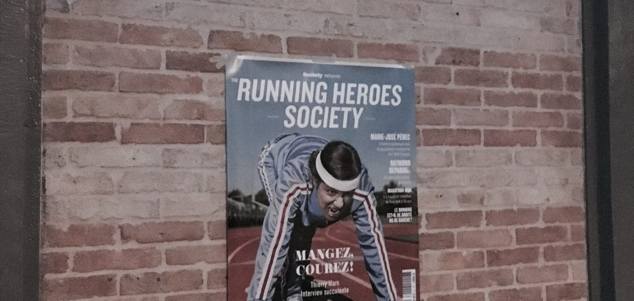 Parcours Running Heroes - Catch the mag